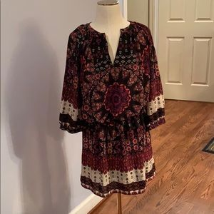 Urban Outfitters fall hippie dress!